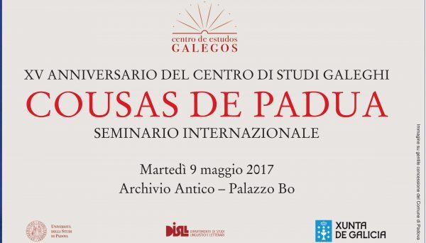 Seminario Internazionale – Cousas de Padua