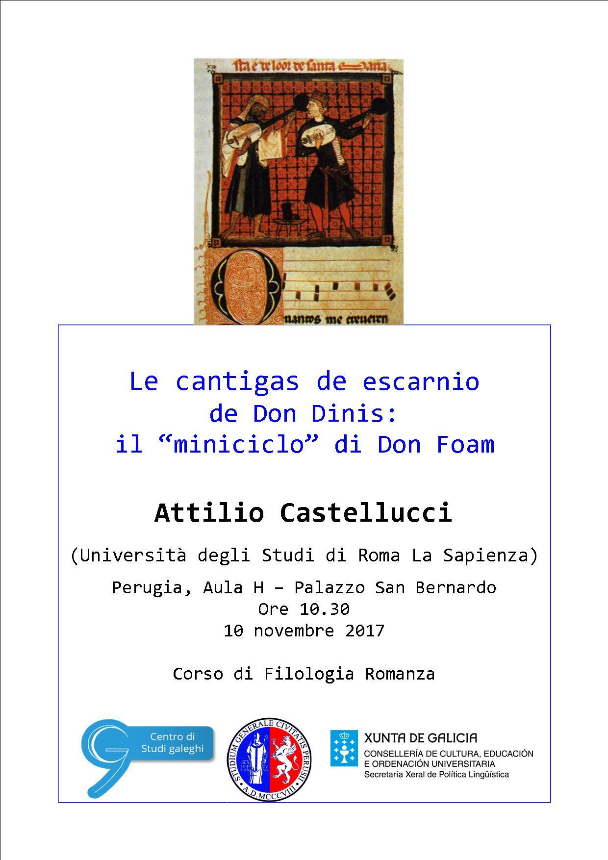 Conferenza – Attilio Castellucci