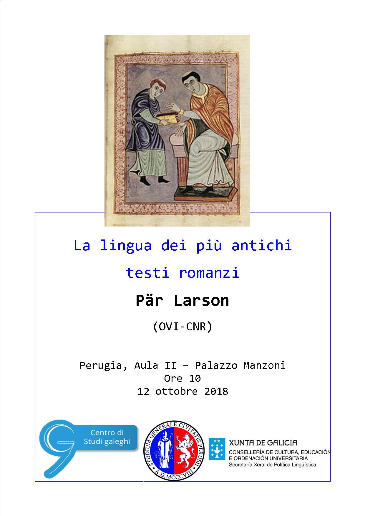 Conferenza – Pär Larson