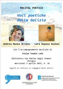 Recital poetico galego