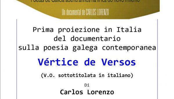 Proiezione del documentario Vértice de Versos