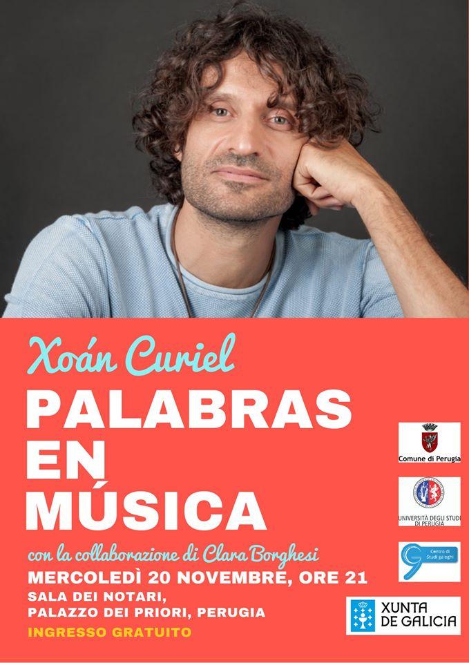 """Concerto """"Palabras en música"""" – Xoán Curiel e Clara Borghesi"""