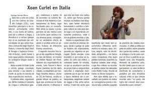 Parole in musica Santiago Serantes