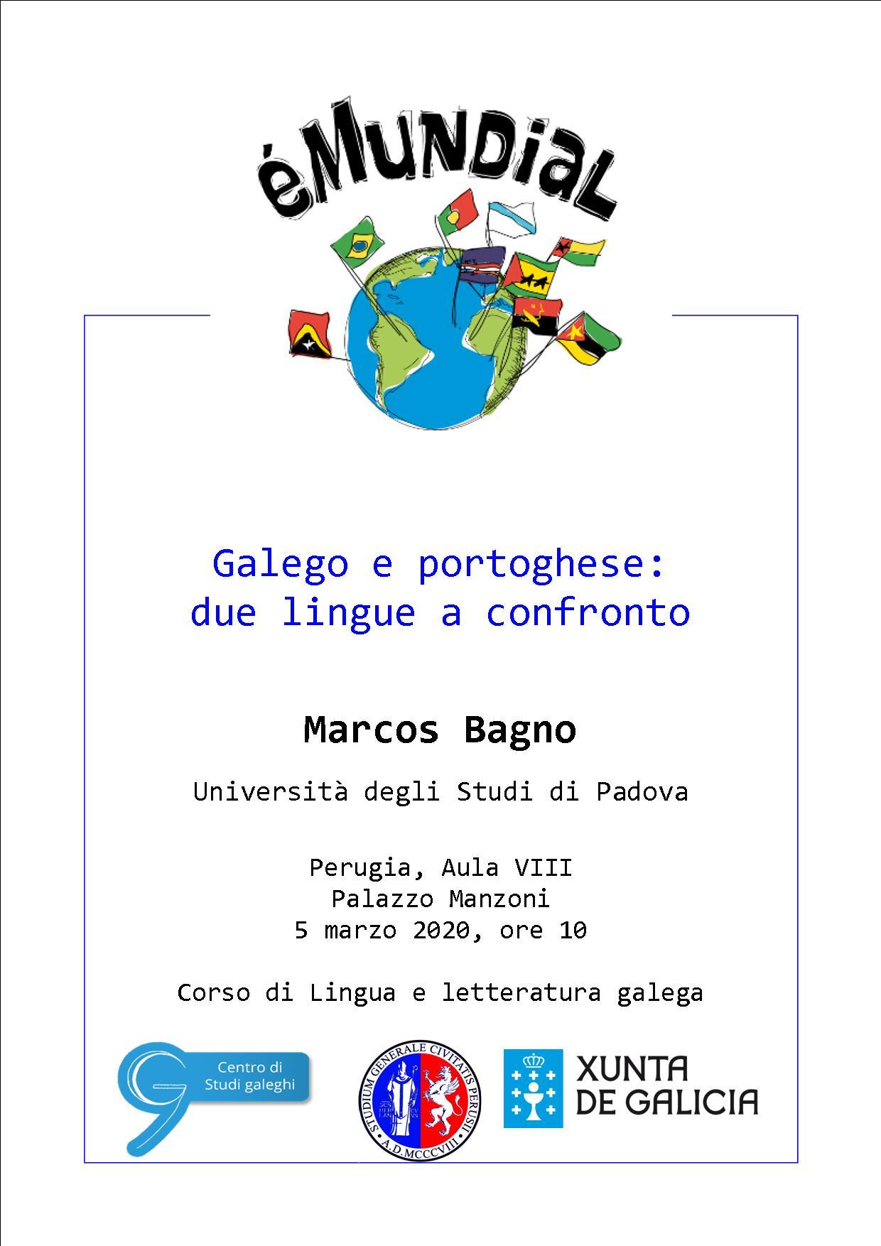 Conferenza di Marcos Bagno